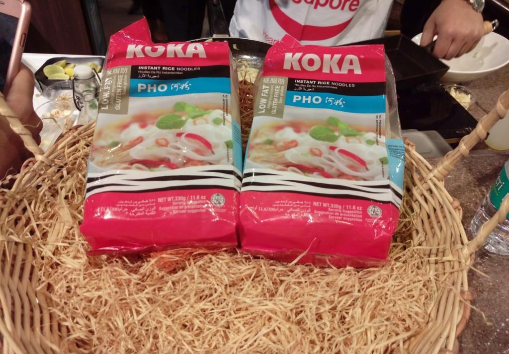 Koka flat Rice noodles food2go4
