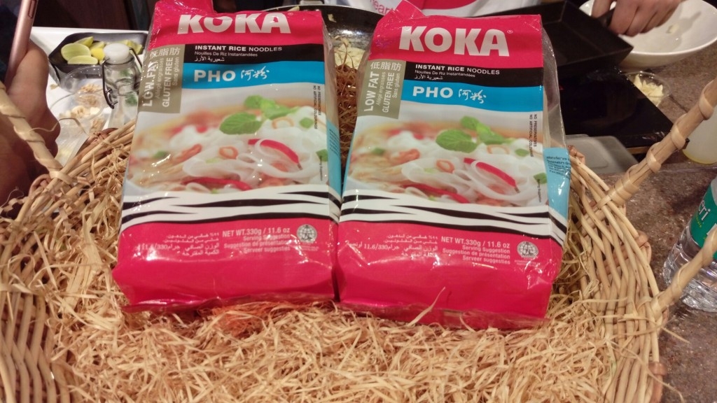 Koka flat Rice noodles food2go4