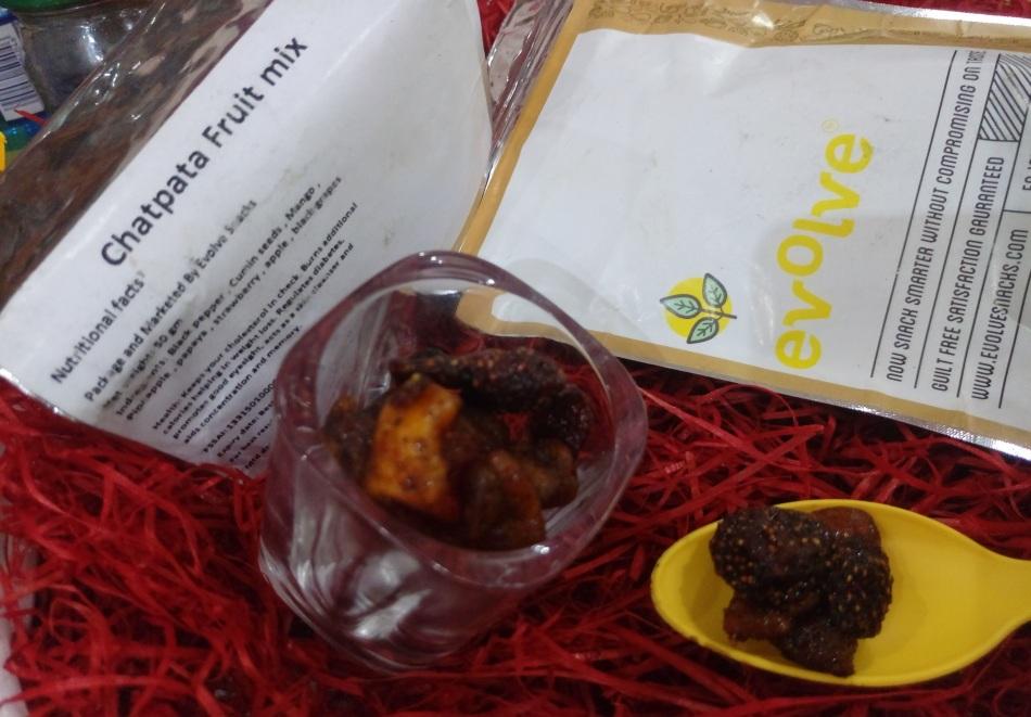 Evolve Snacks - Evolve Chatpata Fruit mix
