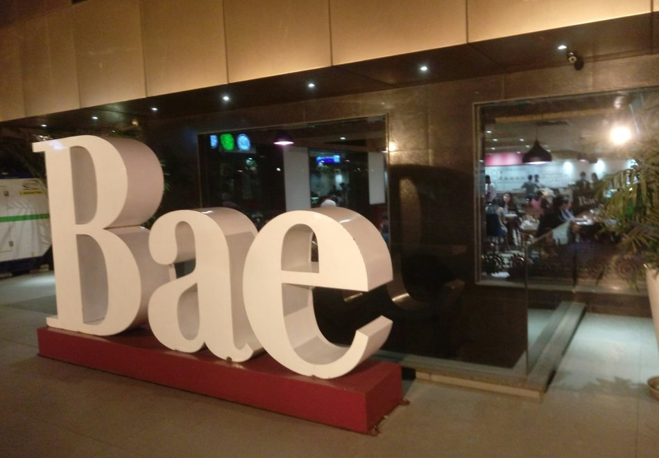 Cafe BAE selfie and photo point
