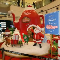 Christmas 2017 in Malls of Delhi NCR