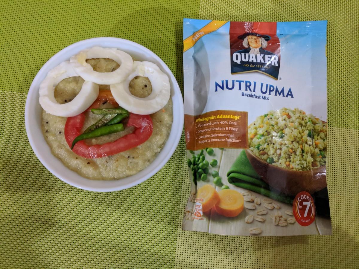 Quaker Nutri Upma Breakfast Mix