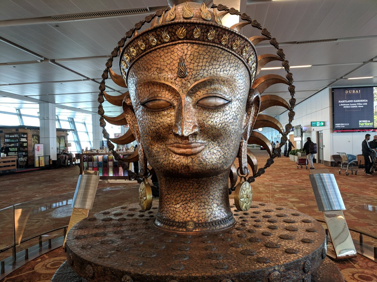Solar Calendar at T3 Airport New Delhi