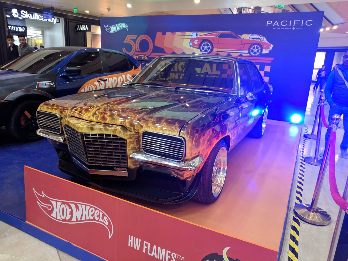Hotwheels in Town at Pacific Mall New Delhi