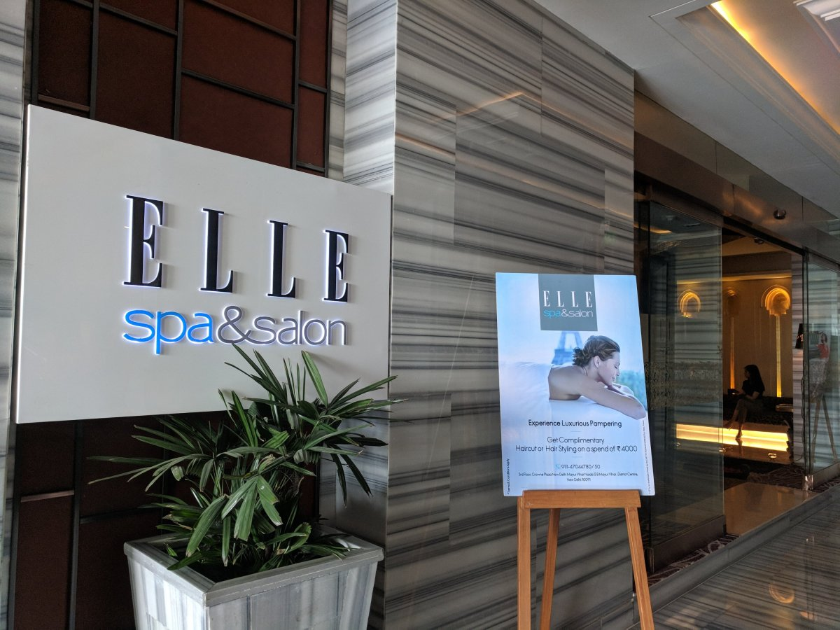 Elle Spa & Salon at Crown Plaza
