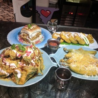 Chaat Pakoda at SodaBottleOpenerWala