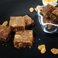 Wholewheat  & Gram flour Burfi