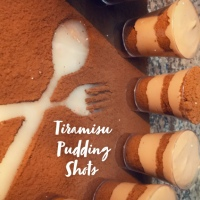 Tiramisu Pudding Shots