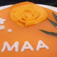 Mango Cheesecake (Lockdown Diaries)