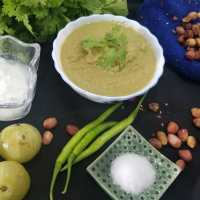Gooseberries & Peanut Chutney Recipe