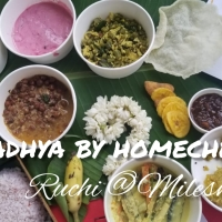Onam Special Sadhya - Home delivered by Conosh